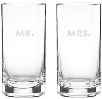 Kate Spade Darling point mr. and mrs. highball set