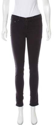 Rag & Bone Mid-Rise Skinny Pants