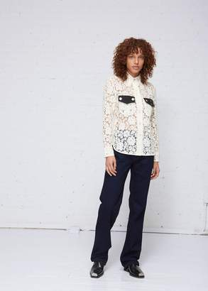 Calvin Klein Lace Utility Shirt