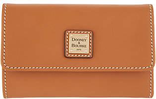 Dooney & Bourke Vachetta Leather Flap Wallet -Beacon