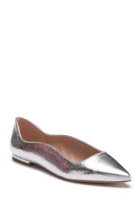 BCBGeneration Nikita Metallic Pointed Toe Flat