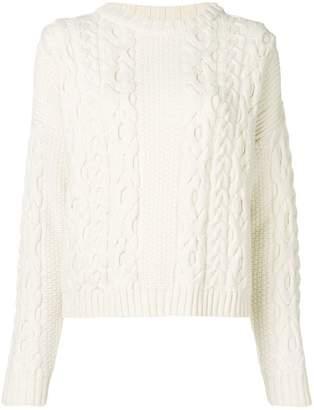 Laneus chunky knit jumper