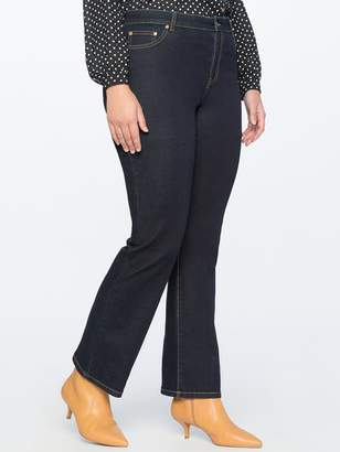 e1c4f8070fd9c Draper James Draper JamesDraper James for ELOQUII Slim Flare Howdy  Embroidered Jean
