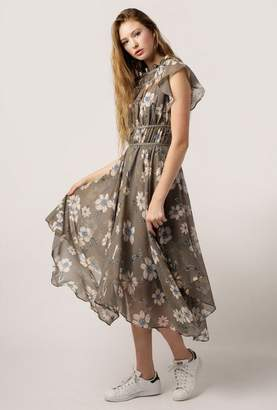 Azalea High Neck Fleur Garden Dress