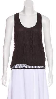 Tom Ford Sleeveless Open Knit Top