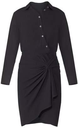 Veronica Beard Wren Twist Shirt Dress