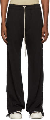Rick Owens Black Easy Pusher Lounge Pants