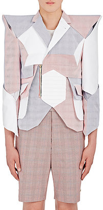 Thom Browne THOM BROWNE MEN'S STRUCTURAL DOUBLE-BREASTED JACKET $11,495 thestylecure.com
