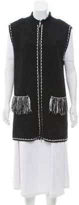 Chanel Knit Zip-Up Vest