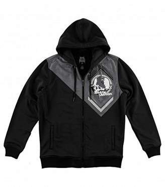 Metal Mulisha Men's Mean Poly Plated Hooded Zip-Up