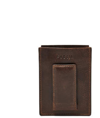 Fossil Derrick RFID Magnetic Card Case