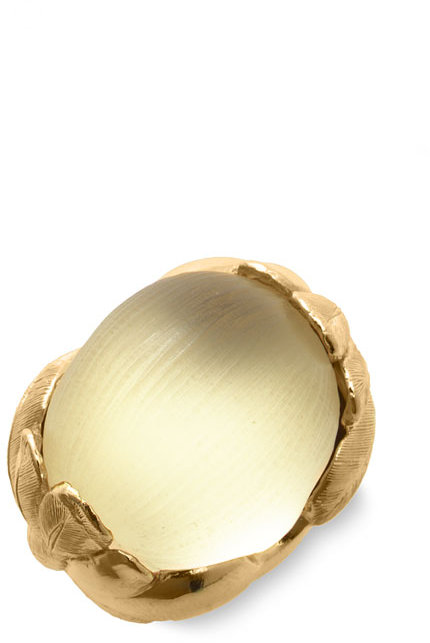 Alexis Bittar Leaf Cocktail Ring