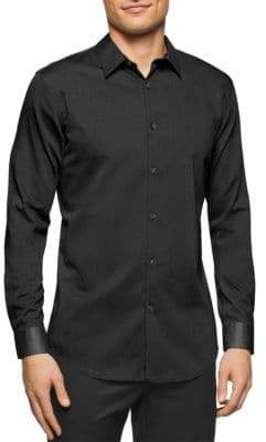 Calvin Klein Cotton Casual Button-Down Shirt