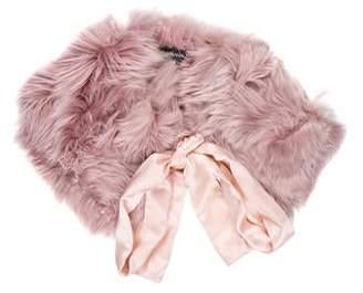 Dolce & Gabbana Alpaca Fur Stole