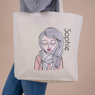 At Notonthehighstreet Syd Co Personalised Miss Pretty Chic Custom