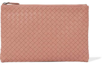 Bottega Veneta Intrecciato Leather Continental Wallet - Antique rose