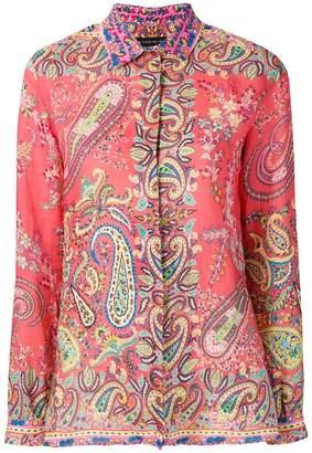 Etro paisley pattern shirt