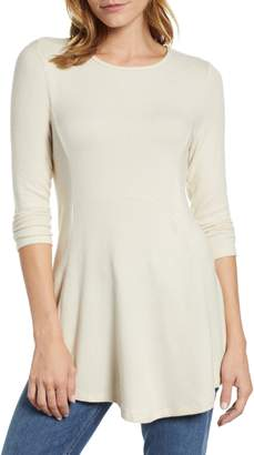 Bobeau Brushed Babydoll Tunic