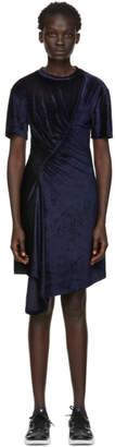 Kenzo Navy Limited Edition Holiday Gathered Dress