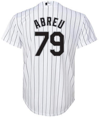 Majestic Jose Abreu Chicago White Sox Replica Jersey, Big Boys (8-20)