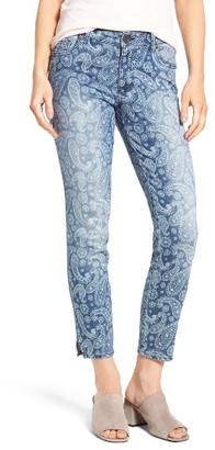 Women's Kut From The Kloth Paisley Print Skinny Jeans $89 thestylecure.com