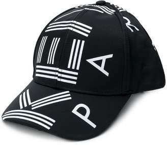 Kenzo logo printed baseball cap