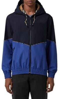 Burberry Elworth Bicolor Zip Jacket