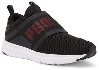Puma Enzo Strap Mesh Slip-On Sneaker
