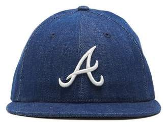 Todd Snyder + New Era + NEW ERA MLB ATLANTA BRAVES CAP IN CONE DENIM
