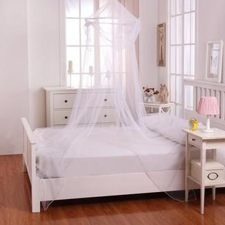 Casablanca Kids Kids Raisinette Collapsible Hoop Sheer Mosquito Net Bed Canopy