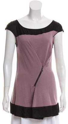 Philosophy di Alberta Ferretti Wool Sleeveless Top