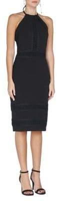 Adelyn Rae Halter Neck Lace Dress