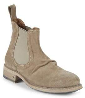 John Varvatos Vintage Grandfather Suede Chelsea Boots