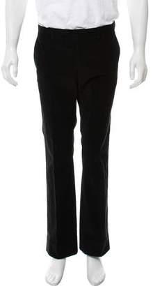 Miu Miu Corded Flat Front Pants
