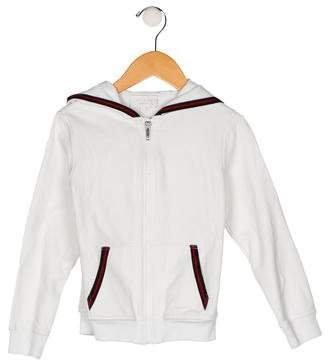 Gucci Girls' Hooded Zip-Up Jacket