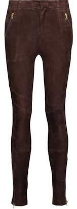 J Brand Astrid Suede Skinny Pants