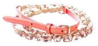 Dolce & Gabbana Embellished Skinny Belt