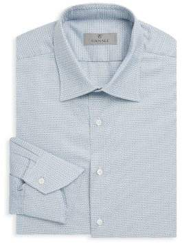 Canali Textured Dress Shirt