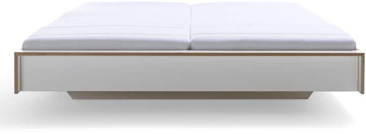 Müller Möbelwerkstätten - Flai Bett 180 x 200 cm, CPL Weiß