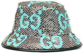 Gucci Sequinned bucket hat