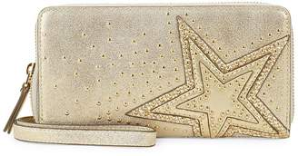 Vince Camuto Women's Studded Leather Continental Wallet