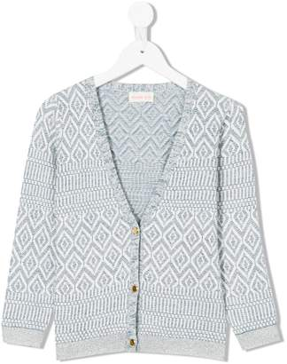 Simple knitted cardigan