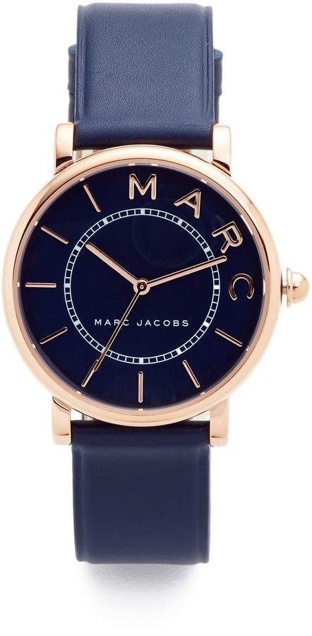 Marc Jacobs Marc Jacobs Roxy Leather Watch