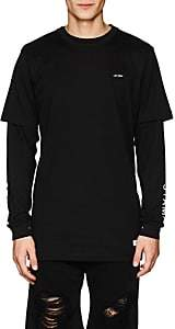 "Stampd Men's ""Late Night"" Cotton T-Shirt - Black"