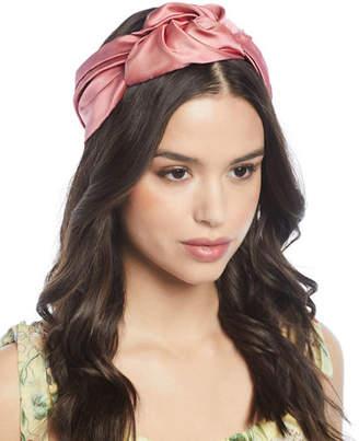 Jennifer Behr Marin Silk Turban Headband