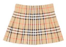 Burberry Girls' Pearl Core Vintage Check Pleated Skirt - Little Kid, Big Kid