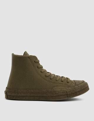 Converse JW Anderson Felt Chuck 70 Hi Sneaker in Tarmac/Stone