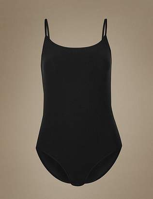 Marks and Spencer Cotton Rich Strappy Body