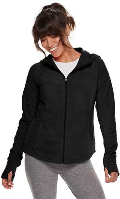 Tek Gear Petite Microfleece Hooded Jacket