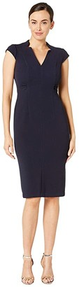 Maggy London Metro Knit Sheath Dress